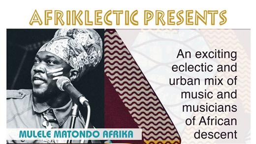 Bild för AFRIKLECTIC, 2016-10-06, En Arena Globen