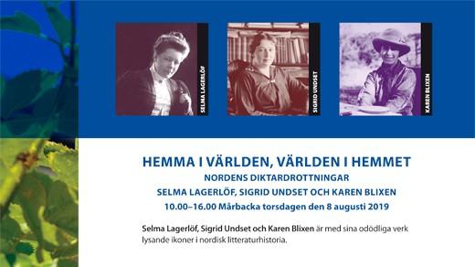 Bild för Hemma i världen, världen i hemmet, 2019-08-08, Mårbacka Minnesgård