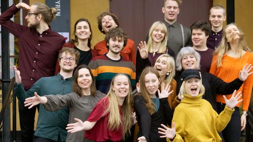 Bild för Vocal Colors ger konsert i Eskilstuna, 2019-03-31, S:t Eskilskyrkan