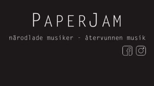 Bild för PAPERJAM live!  (max 49 biljetter), 2021-10-08, Biografbaren