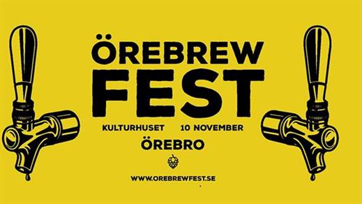 Bild för Örebrewfest 2018, 2018-11-10, Kulturhuset Örebro