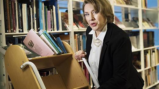 Bild för Bibliotekarien, 2018-03-22, Långasjö Bygdegård