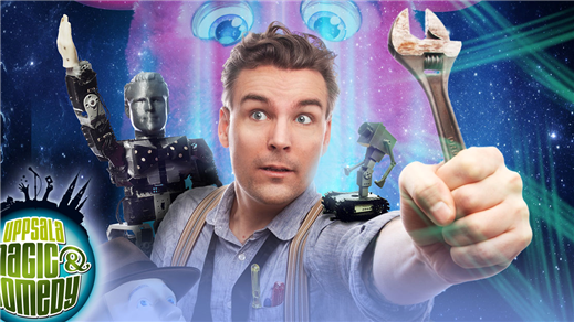 Bild för Uppsala Magic & Comedy: Robotricks, 2019-04-26, Humanistiska teatern