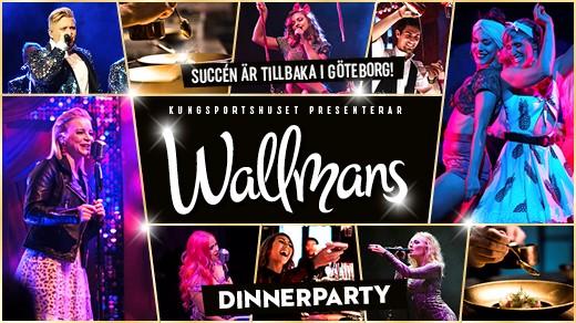Bild för Wallmans Dinnerparty våren 2020, 2020-03-20, Kungsportshuset
