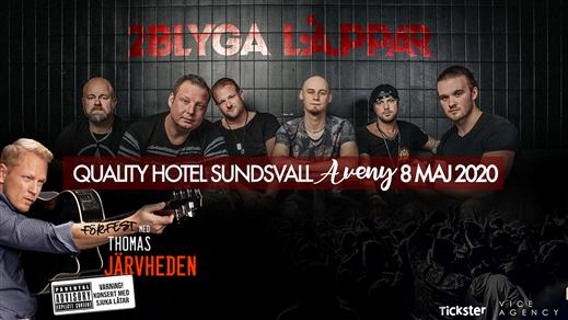 Bild för 2 Blyga Läppar Boendepaket Dubbelrum, 2020-05-08, Quality Hotel Sundsvall