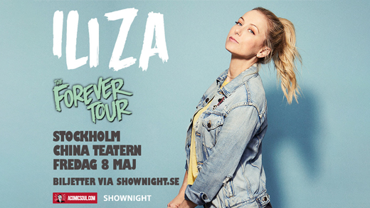 Bild för Iliza - The Forever Tour, 2020-12-08, China Teatern