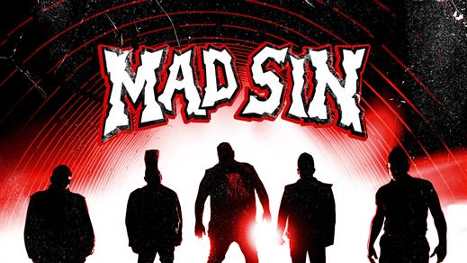 Bild för Mad Sin + The Test Pilots, 2022-02-05, Nöjesfabriken