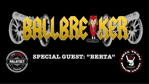 """Bild för BALLBREAKER + """"BERTA"""", 2019-03-01, PALATSET"""