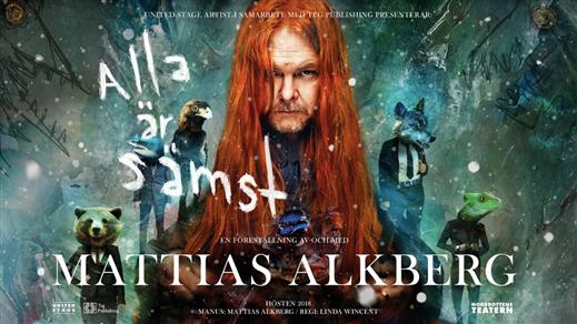 Bild för MATTIAS ALKBERG - ALLA ÄR SÄMST, 2018-11-08, The Tivoli