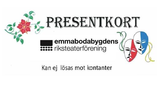 Bild för Presentkort, 2018-08-20, Emmaboda riksteaterförening