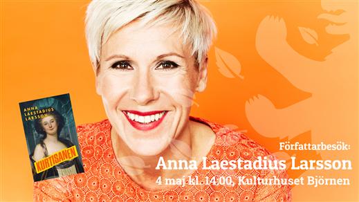 Bild för Författarbesök: Anna Laestadius Larsson, 2019-05-04, Kulturhuset Björnen Åstorp