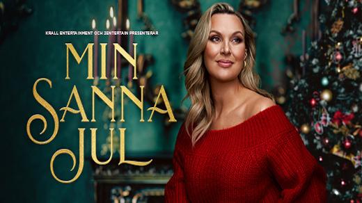 Bild för Min Sanna Jul – Sanna Nielsen, 2021-12-17, Idun, Umeå Folkets Hus