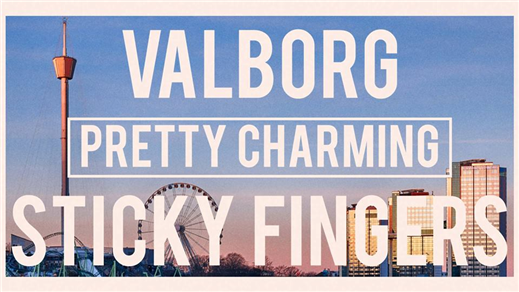 Bild för Pretty Charming + Support, 2018-04-30, Sticky Fingers