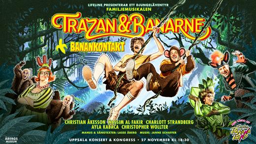 Bild för Familjemusikalen Trazan & Banarne, 2021-12-19, UKK - Stora salen