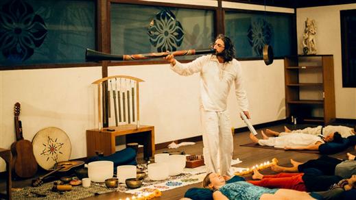 Bild för Sound Healing med Shervin, 2018-10-27, Tempelriddaren