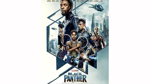 Bild för Black Panther (11 år)  Premiär, 2018-02-14, Biosalongen Folkets Hus