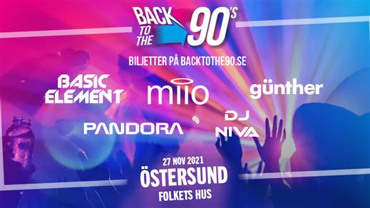 Bild för BACK TO THE 90s - Östersund, 2021-11-27, Folkets hus Östersund