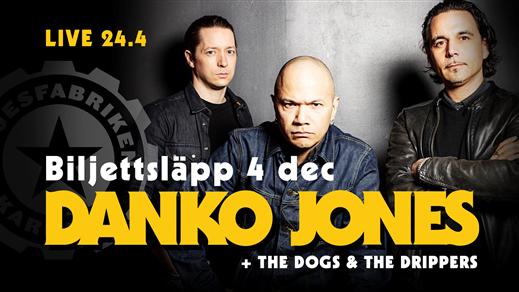 Bild för Danko Jones + The Dogs + The Drippers, 2020-04-24, Nöjesfabriken