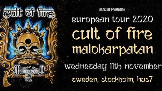 Bild för Cult of Fire, Malokarpatan i Stockholm, 2020-11-11, Hus 7