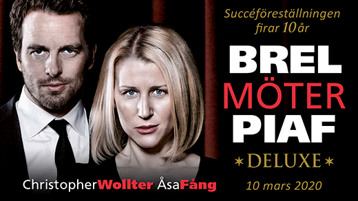 Bild för BREL MÖTER PIAF - DELUXE, 2020-03-10, Oscarsteatern