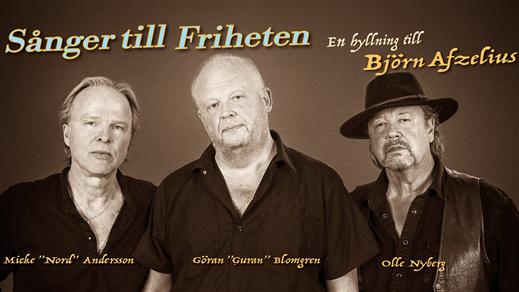 Bild för Sånger till Friheten - en hyllning till Björn Afze, 2018-10-13, Hjalmar Bergman Teatern