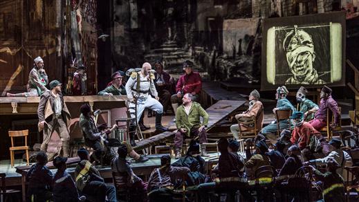 Bild för Wozzeck - från Metropolitan, 2020-01-14, Landskrona Teater