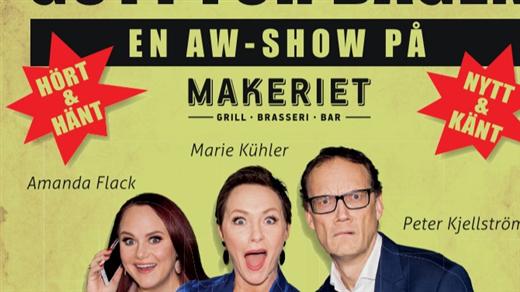 Bild för Gott för dagen-En AW show, 2020-04-17, Makeriet