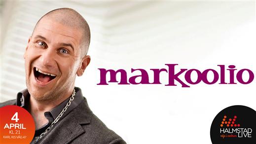 Bild för Markoolio, 2020-04-04, Halmstad Live