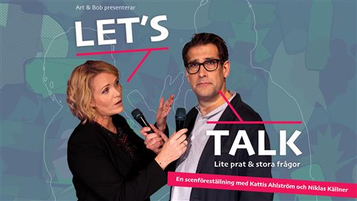 Bild för Let's Talk, 2019-04-27, Sandviken, Folketshus
