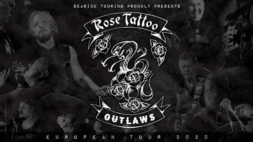Bild för Rose Tattoo + Support, 2020-03-14, Nöjesfabriken