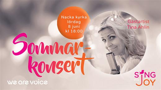 Bild för Sommarkonsert Sing for Joy, 2019-06-08, Nacka Kyrka