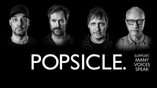 Bild för Klubb Mono: Popsicle + Many Voices Speak, 2019-03-08, Frimis Salonger Örebro