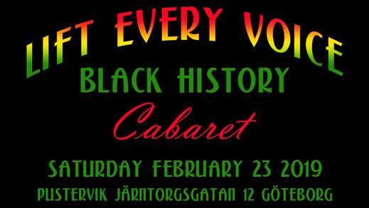 Bild för Lift Every Voice -Black History Cabaret, 2019-02-23, Pustervik