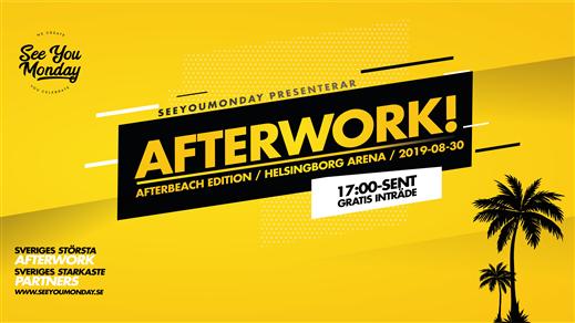 Bild för SeeYouMonday Afterwork! - Helsingborg Arena, 2019-08-30, Helsingborgs Arena