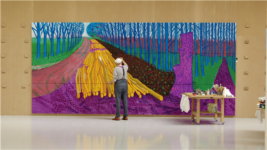 Bild för Hockney: Landscape, Portraits and one still Life, 2017-11-30, ROYAL-biografen
