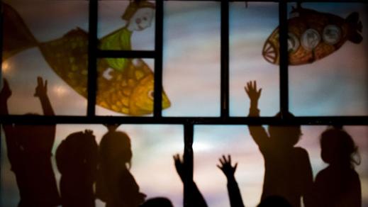 Bild för Busiga händer - Dockteatern Tittut (11.00), 2019-04-14, Kulturhuset Komedianten, Lilla Teatern