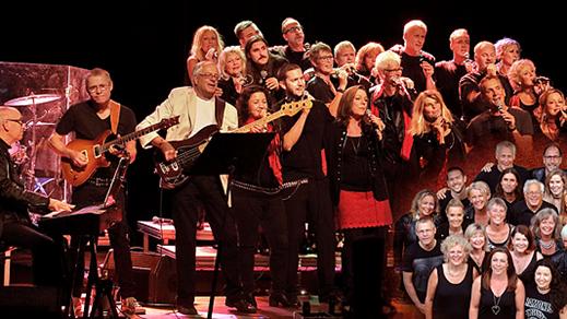 Bild för Mölnlycke Rockkör, 2019-10-18, Musikens Hus Stora Scen