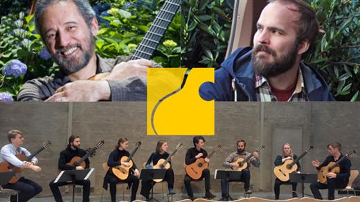 Bild för En hyllning till Sergio Assad, Gitarrorkester, 2020-10-10, UKK - Stora salen