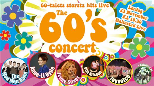 Bild för The 60's Concert, 2019-11-23, Halmstad Live Lilla