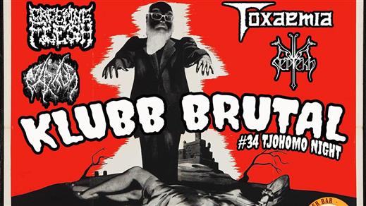 Bild för Klubb Brutal #34 Tjohomo night, 2019-10-19, Bomber Bar Motala