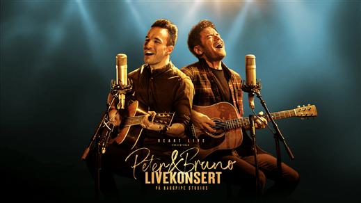 Bild för Peter & Bruno - live på Baggpipe Studios, 2021-03-20, Baggpipe Studios