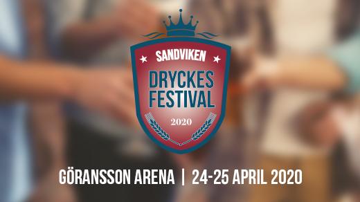 Bild för Sandvikens Dryckesfestival, 2020-04-24, Göransson Arena Sport #2