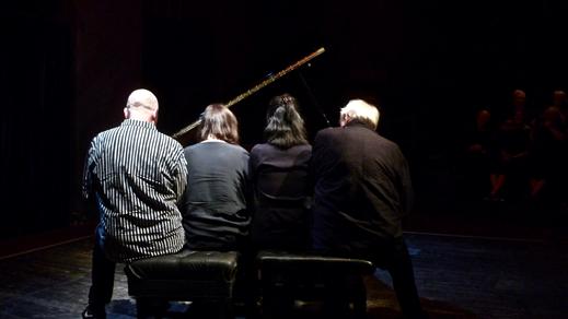 Bild för Levande musik - Åtta händer / En flygel, 2019-04-02, Atalante