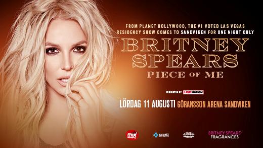 Bild för BRITNEY SPEARS, 2018-08-11, Göransson Arena Sport #2