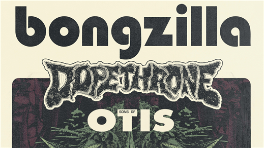 Bild för Bongzilla - Dopethrone - Sons Of Otis, 2018-07-06, Kraken