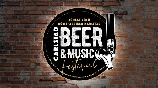Carlstad Beer & Music Festival 2021 - Nöjesfabriken - Karlstad - 9 januari 2021