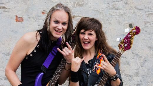 Bild för Vi älskar rock -  reklamfilmsinspelning, 2020-09-26, Ånge Folkets Hus