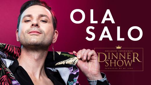 Bild för Exclusive Dinner Show - Ola Salo, 2021-07-01, Marstrand Havshotell