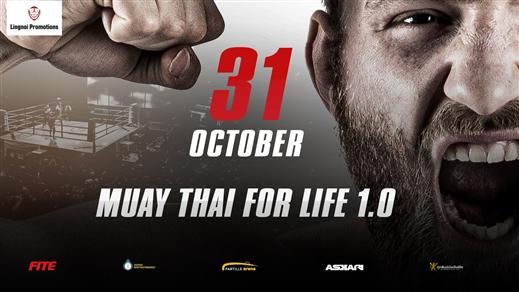 Bild för Muay Thai For Life, 2021-10-31, Partille arena