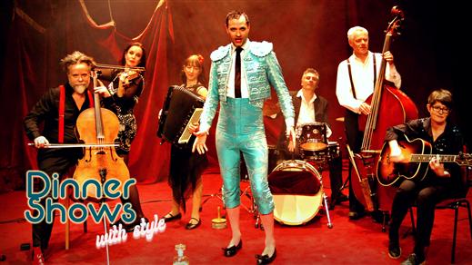 Bild för Lindy & Bon Bon Band - A Dinner Show with Style, 2020-09-23, Clara Schumann-salen, Musikaliska